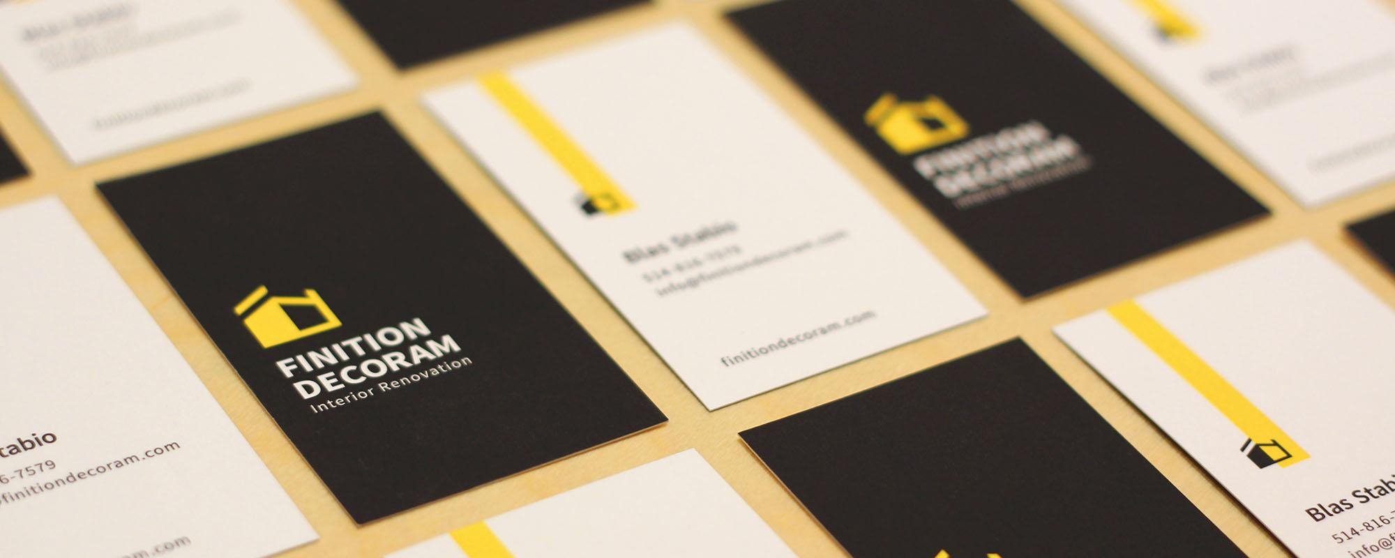 Finition Decoram — Rebrand 2017 – Montreal Design